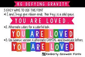 KG Defying Gravity