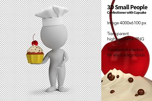 3D Small People - Confectioner