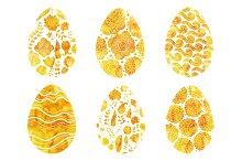 Gold Easter Eggs