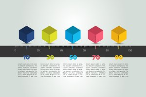 Timeline template infographic.