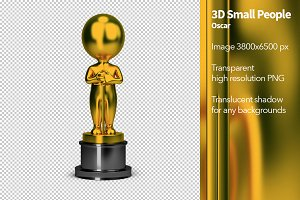 3D Small People - Oscar