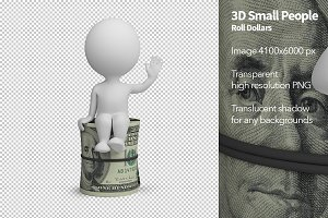 3D Small People - Roll Dollars
