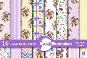 Easter Digital Papers, AMB-1177