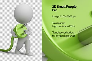 3D Small People - Plug
