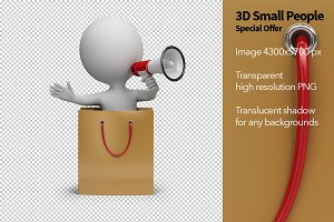 3D Small People - Special Offer