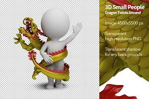 3D Small People - Dragon