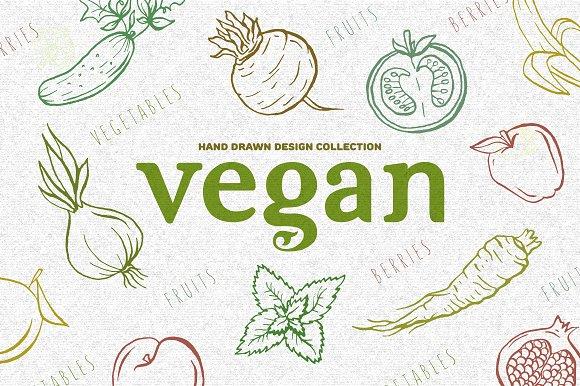 Vegan design collection