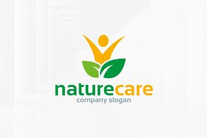 Nature Care Logo Template