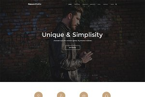 Neoesthetic - Creative Onepage