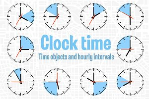 Time objects and hourly intervals