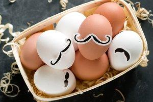 Hipster egg