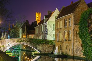 Canal Groenerei in Bruges