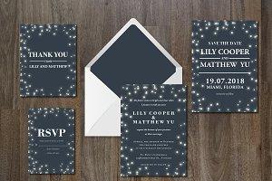 Wedding Invitation Suite Dreamy