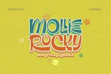 Mollie Rocky by  in Fonts