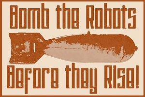 Psychotic Robots Font