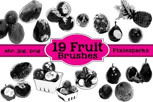 Fruit Brushes - Vol 1