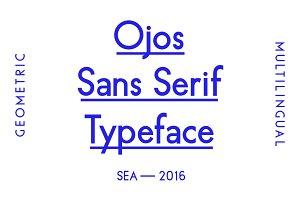 Ojos Sans Serif Font