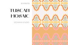 TUSCAN MOSAIC by  in Graphics