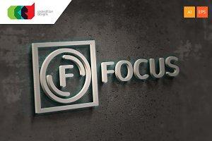 Focus - Logo Template