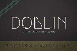Doblin Typeface (2 Styles)