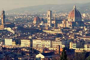 Classic view of Florence