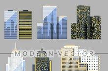 Skyscraper. Buildings