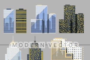 Skyscraper. Buildings
