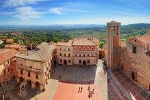 Montepulciano town panorama.