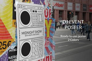 DJ Event Poster