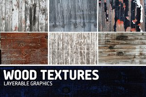 Wood Texture Overlays-Pack of 11