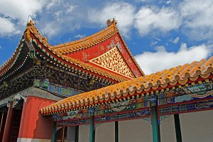 Summer Palace Roof Detail