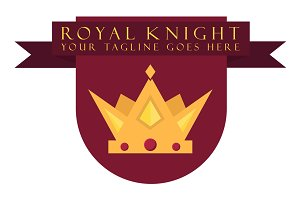 Royal Knight (Logo Template)