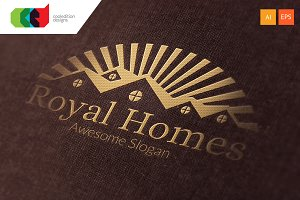 Royal Homes - Logo Template