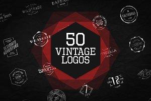 50 Vintage Logos