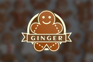 Gingerbread Man Logo