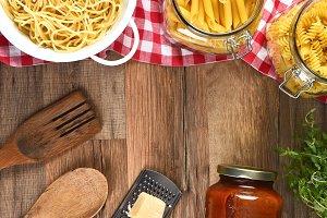 Italian Cooking Still Life