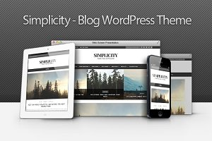 Simplicity - Clean Blog WP Theme