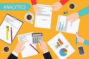 Business analytics & financial audit