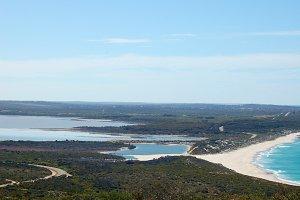 Coastal River Sand Beach Stock Photo