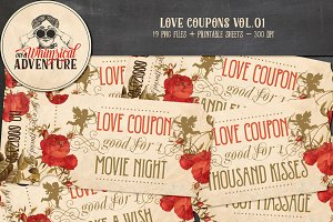 Printable Love Coupons Vol.01