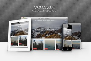 Moozakue - Modern Blog Theme