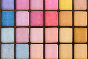 Eye shadows background