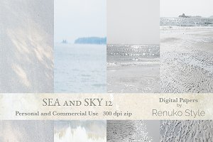 Sea and Sky 12 Digital Textures