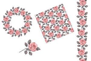 Roses. Set 2