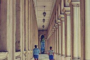 Two girls in Havana