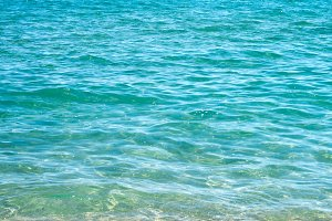 Mediterrean Sea close up