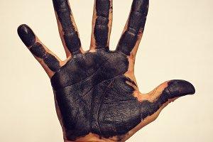 blackhanded