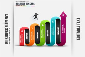 Business Success Infographic Element