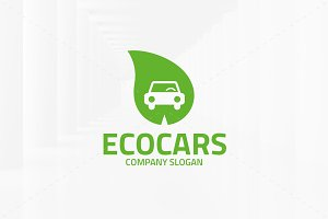 Eco Cars Logo Template