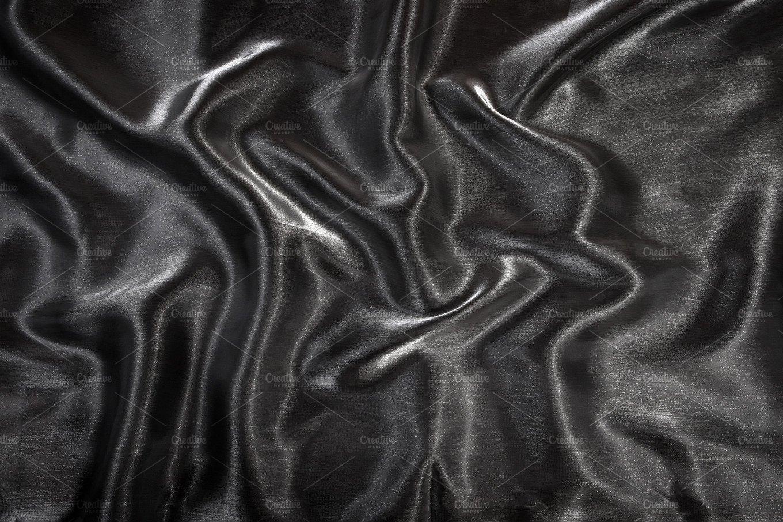 Wavy folds smooth silk texture ~ Beauty & Fashion Photos ~ Creative Market